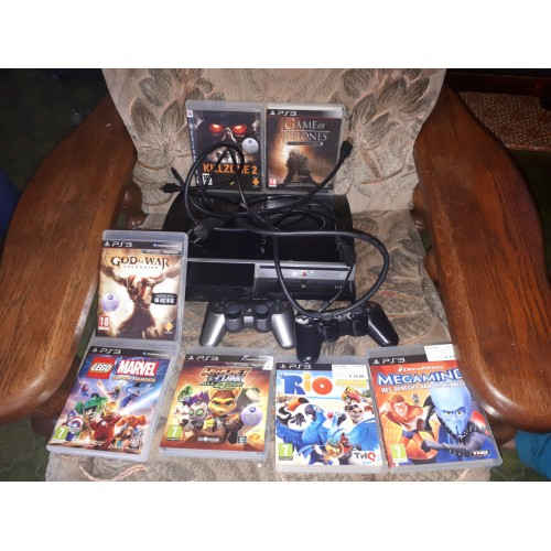 PlayStation 3 console met games