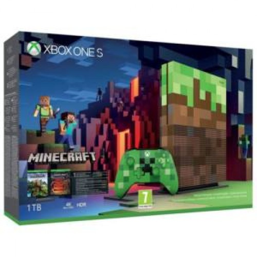 MICROSOFT XBOX ONE S (SLIM) MINECRAFT 1TB