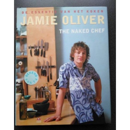 boek 'THE NAKED CHEF' van Jamie Oliver