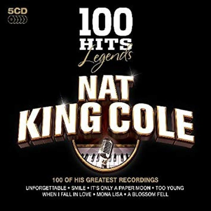 Nat King Cole 100 Hits Legends (5 CD's, Oct-2009)
