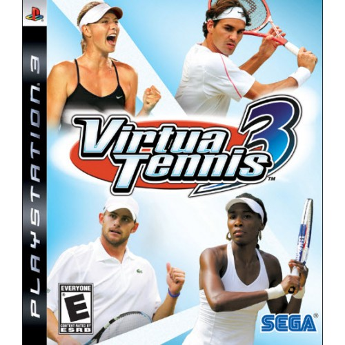 VIRTUA TENNIS 3 voor Playstation3