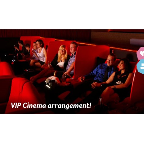 VIP CINEMA ARRANGEMENT