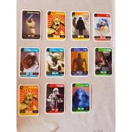 STAR WARS - kaartjes - set van 11