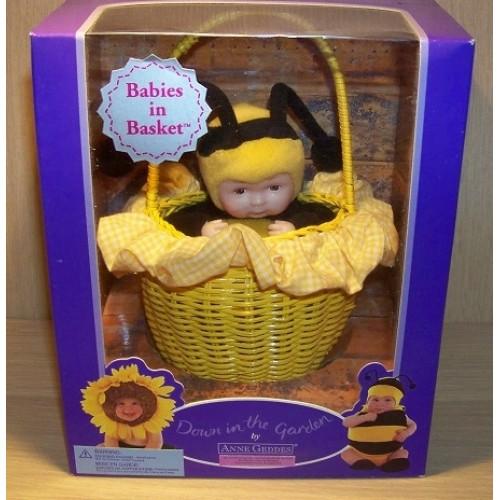 Babies in Basket collection - Baby Bee - Anne Geddes